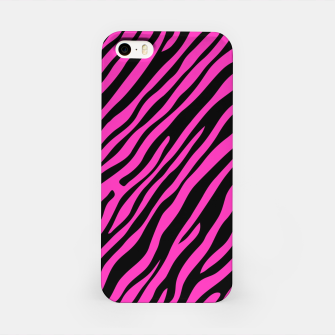 Thumbnail image of Hot Pink Zebra Stripes iPhone Case, Live Heroes