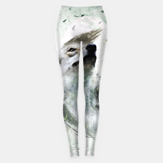 Thumbnail image of Nature Wolf Leggings, Live Heroes