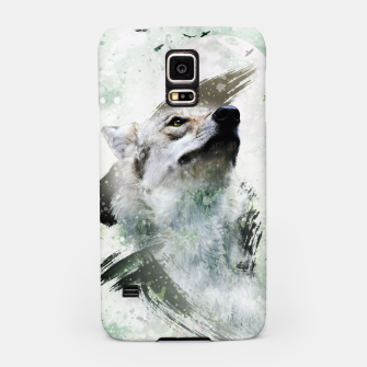Thumbnail image of Nature Wolf Handyhülle für Samsung, Live Heroes