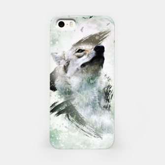 Thumbnail image of Nature Wolf iPhone-Hülle, Live Heroes