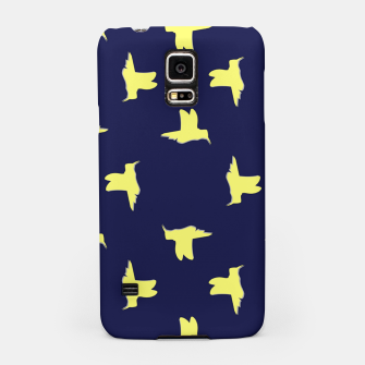 Thumbnail image of Yellow birds on blue Samsung Case, Live Heroes