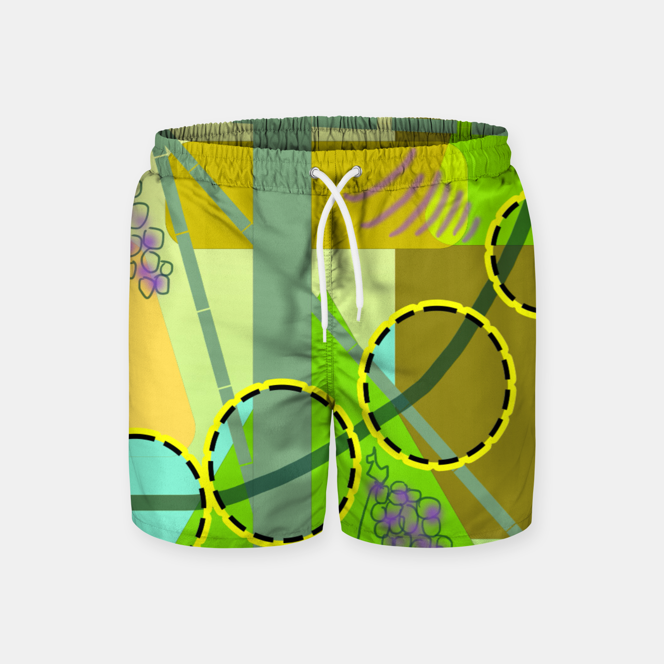 Image of Driving To get Fruit Swim Shorts - Live Heroes