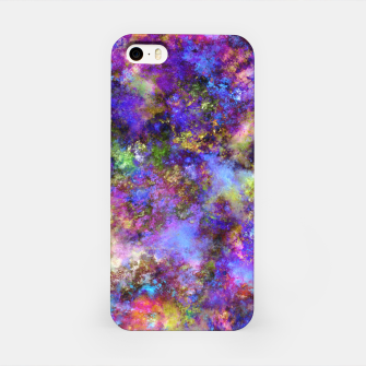Thumbnail image of Dancing blue smoke iPhone Case, Live Heroes