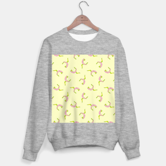 Thumbnail image of Silhouette yoga pattern Sweater regular, Live Heroes