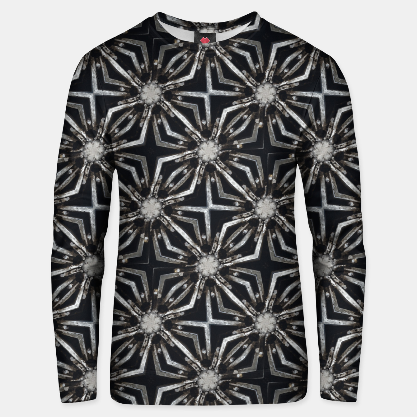Image of Futuristic Industrial Print Pattern Unisex sweater - Live Heroes