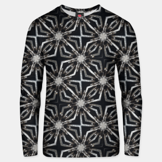 Thumbnail image of Futuristic Industrial Print Pattern Unisex sweater, Live Heroes