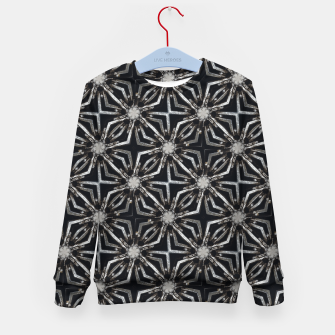 Thumbnail image of Futuristic Industrial Print Pattern Kid's sweater, Live Heroes
