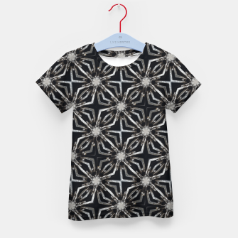 Thumbnail image of Futuristic Industrial Print Pattern Kid's t-shirt, Live Heroes