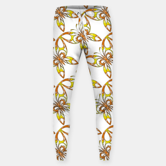 Thumbnail image of Many butterflies pattern Sweatpants, Live Heroes