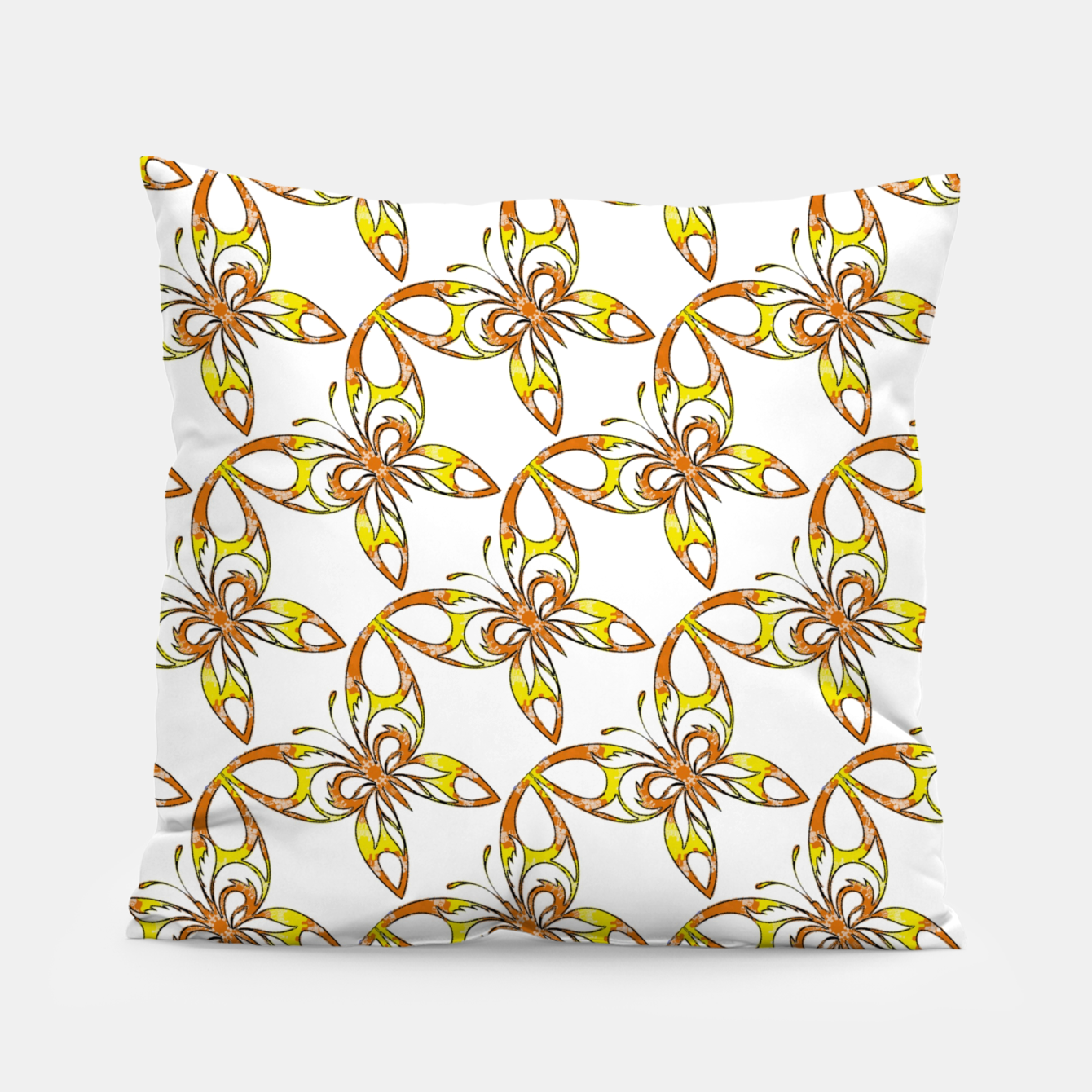 Image of Many butterflies pattern Pillow - Live Heroes