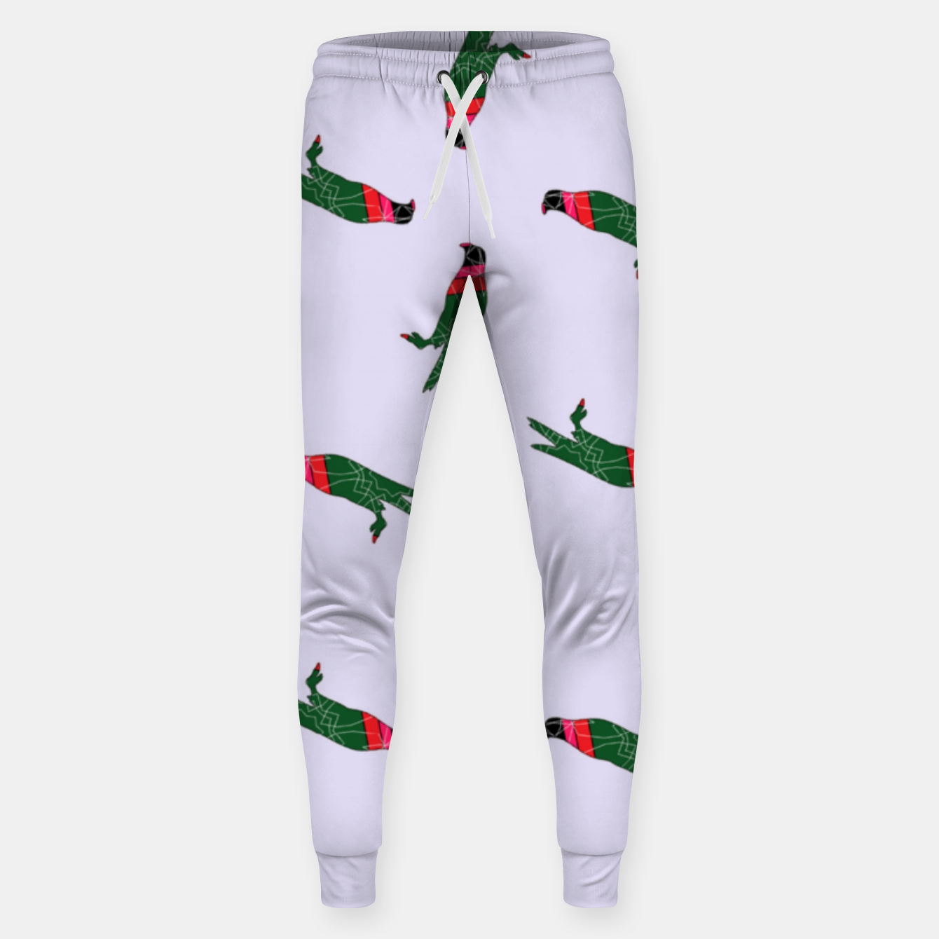 Image of Colorful eagle on gray Sweatpants - Live Heroes