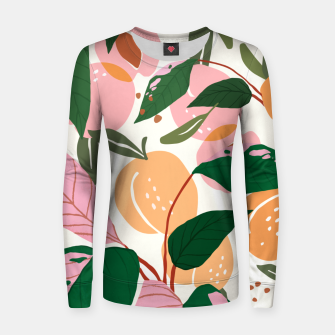 Thumbnail image of The Peach Garden Women sweater, Live Heroes