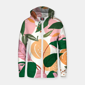Thumbnail image of The Peach Garden Zip up hoodie, Live Heroes