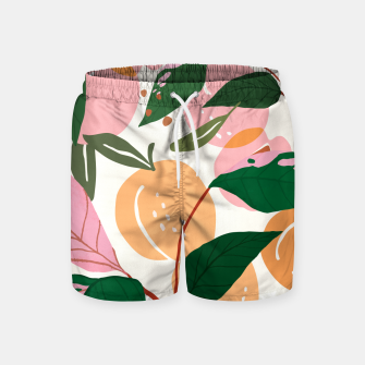 Thumbnail image of The Peach Garden Swim Shorts, Live Heroes