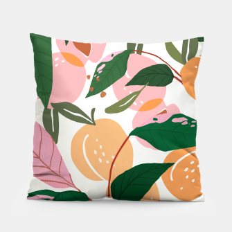 Thumbnail image of The Peach Garden Pillow, Live Heroes