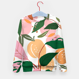 Thumbnail image of The Peach Garden Kid's sweater, Live Heroes