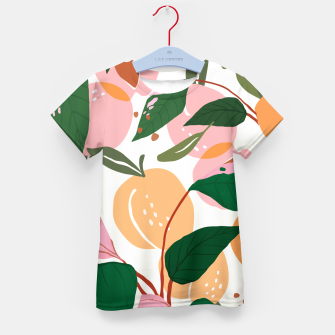 Thumbnail image of The Peach Garden Kid's t-shirt, Live Heroes