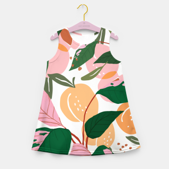 Thumbnail image of The Peach Garden Girl's summer dress, Live Heroes