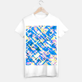 Thumbnail image of Sapphire labyrinth, small colored tiles arranged in mosaic T-shirt regular, Live Heroes