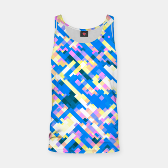 Thumbnail image of Sapphire labyrinth, small colored tiles arranged in mosaic Tank Top, Live Heroes