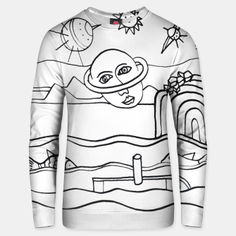 Thumbnail image of The Universe as seen from Earth Unisex sweater, Live Heroes