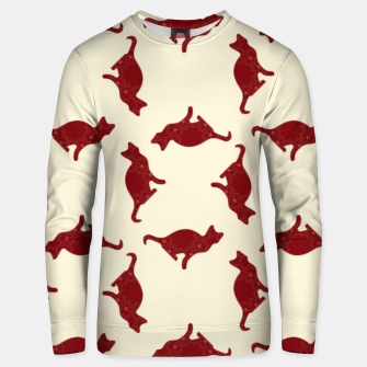 Thumbnail image of Cats pattern Unisex sweater, Live Heroes