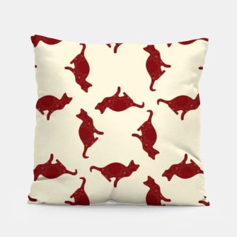Thumbnail image of Cats pattern Pillow, Live Heroes