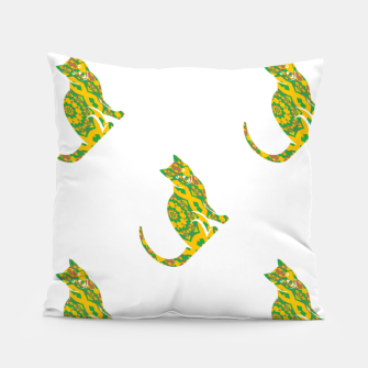 Thumbnail image of Decorative cats Pillow, Live Heroes
