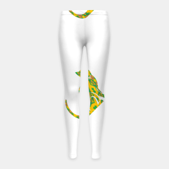 Thumbnail image of Decorative cats Girl's leggings, Live Heroes