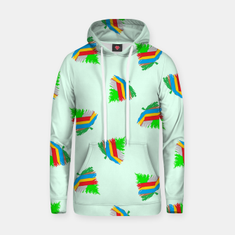 Thumbnail image of Colorful trees pattern Hoodie, Live Heroes