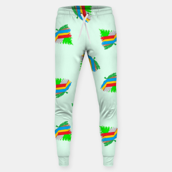 Thumbnail image of Colorful trees pattern Sweatpants, Live Heroes