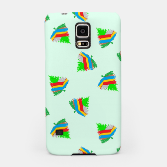 Thumbnail image of Colorful trees pattern Samsung Case, Live Heroes
