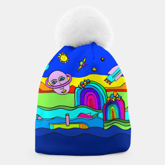 Miniature de image de The Universe as seen from Earth - COLORED Beanie, Live Heroes