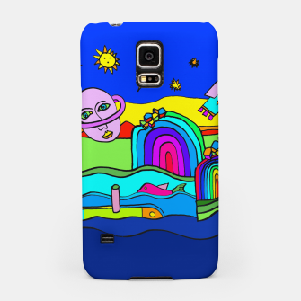 Miniature de image de The Universe as seen from Earth - COLORED Samsung Case, Live Heroes