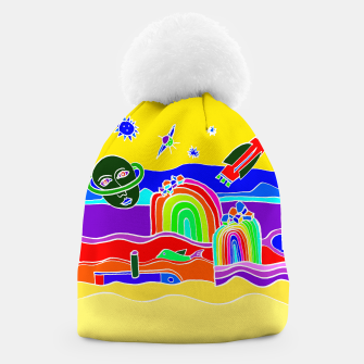 Miniature de image de The Universe as seen from Earth - warm Beanie, Live Heroes