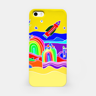 Miniature de image de The Universe as seen from Earth - warm iPhone Case, Live Heroes