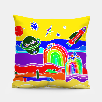 Miniature de image de The Universe as seen from Earth - warm Pillow, Live Heroes
