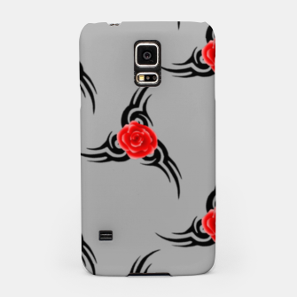 Thumbnail image of Red roses pattern Samsung Case, Live Heroes
