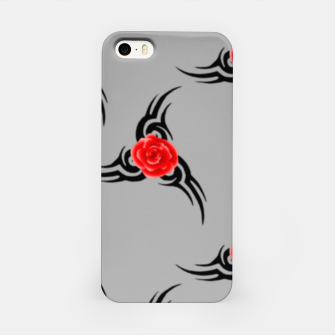 Thumbnail image of Red roses pattern iPhone Case, Live Heroes