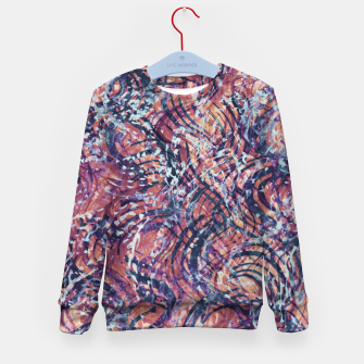 Thumbnail image of Kaleidoscope Painting 8 Kid's sweater, Live Heroes