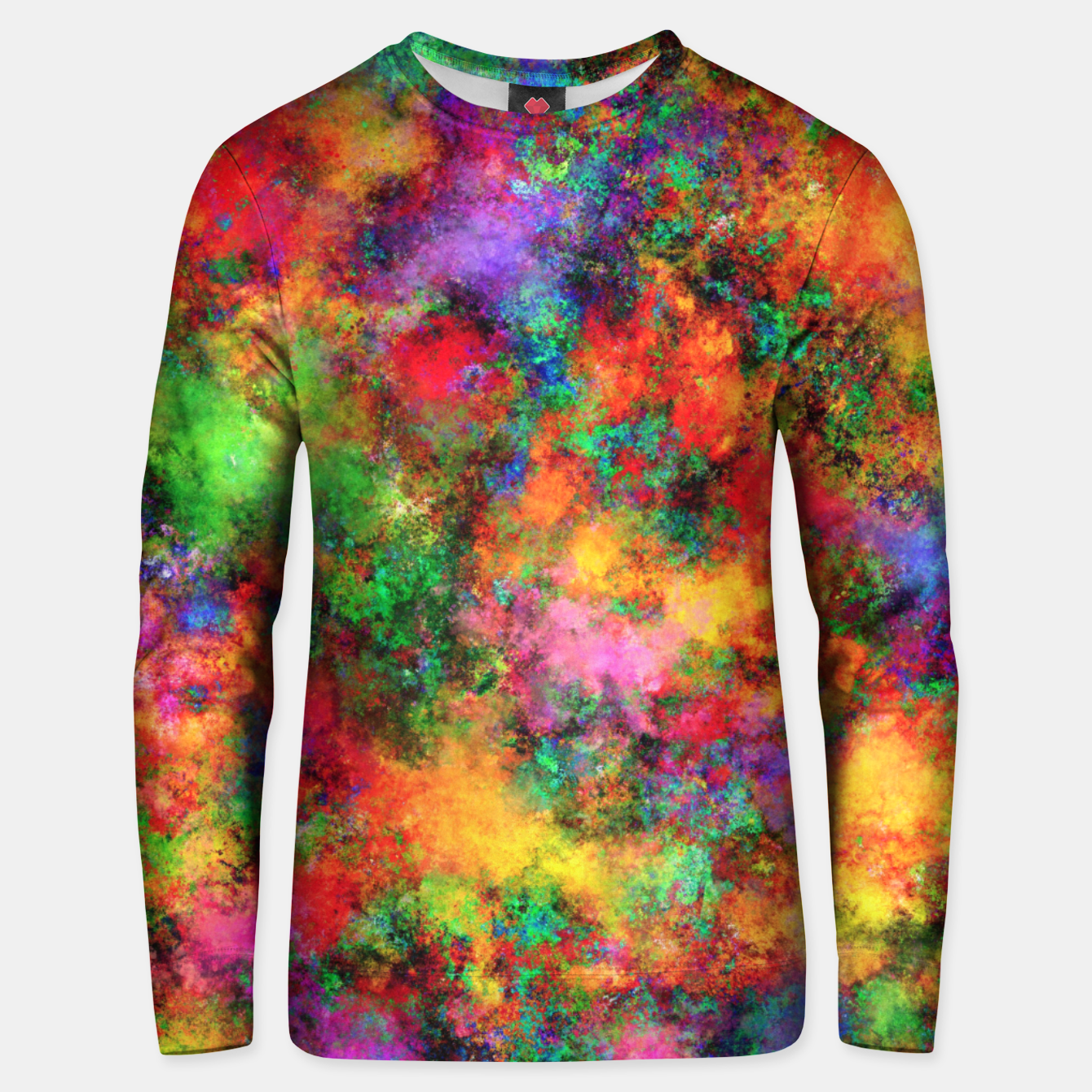 Image of Big rainbow clouds Unisex sweater - Live Heroes