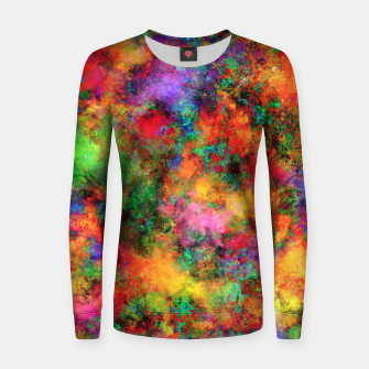 Thumbnail image of Big rainbow clouds Women sweater, Live Heroes