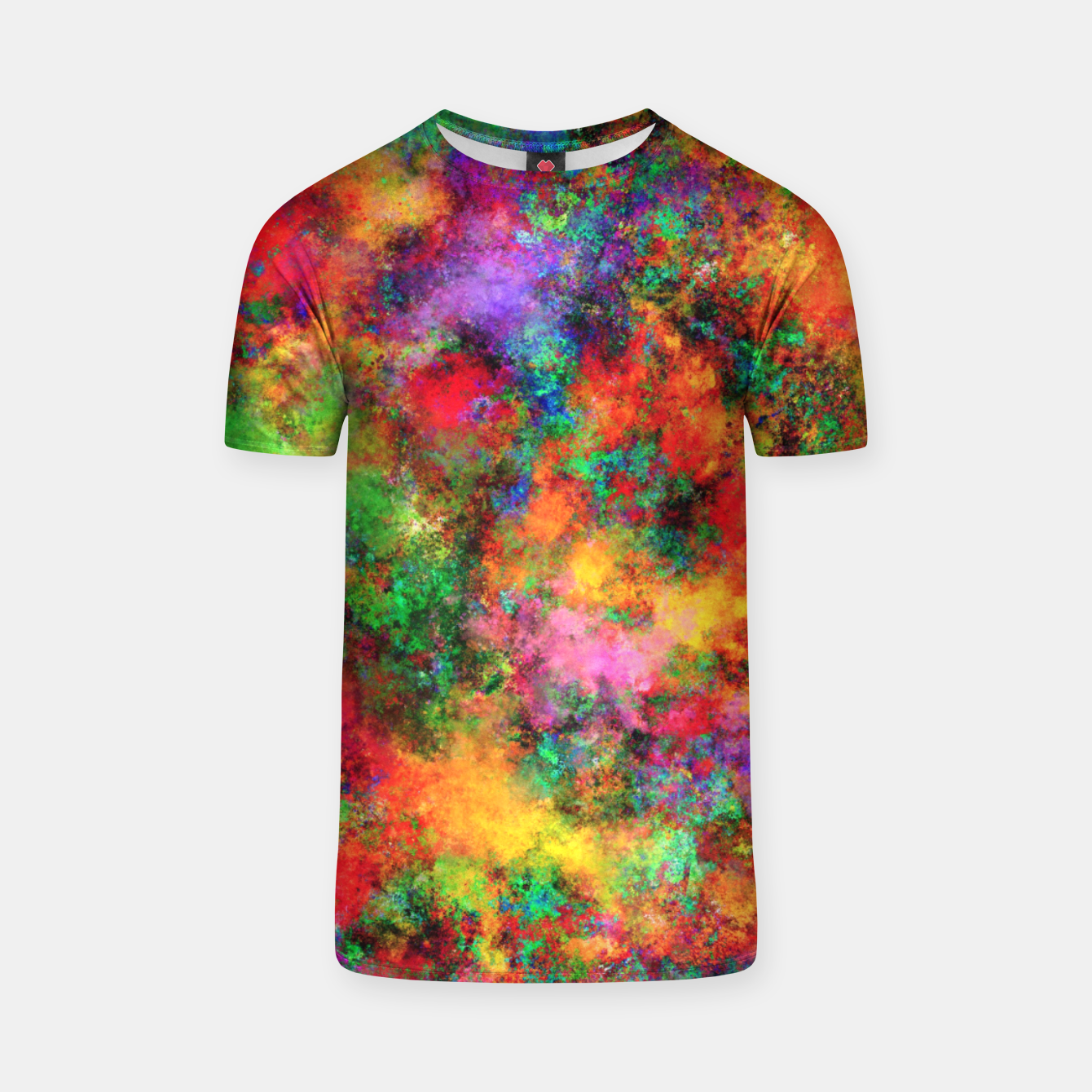 Image of Big rainbow clouds T-shirt - Live Heroes