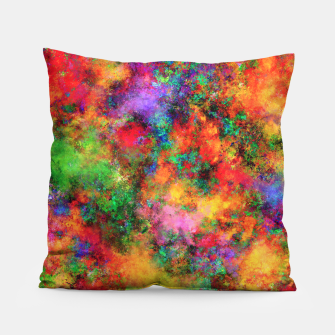 Thumbnail image of Big rainbow clouds Pillow, Live Heroes