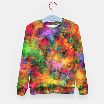 Thumbnail image of Big rainbow clouds Kid's sweater, Live Heroes