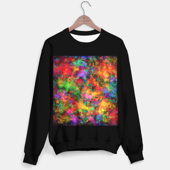 Thumbnail image of Big rainbow clouds Sweater regular, Live Heroes