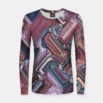 Thumbnail image of Rectangles Women sweater, Live Heroes