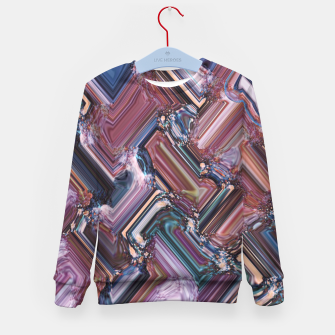 Thumbnail image of Rectangles Kid's sweater, Live Heroes