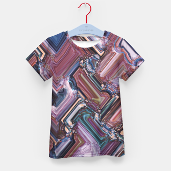 Thumbnail image of Rectangles Kid's t-shirt, Live Heroes