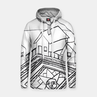 Thumbnail image of The Sun rests in the small Main Square of the Village Hoodie, Live Heroes